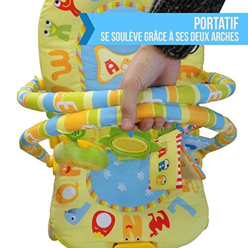 monsieur-bébé-®-transat-vibrant-et-musical-barre-à-jouets-et-dossier-inclinable-modèle-jungle-norme-en-12790-5-500x500