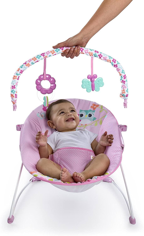 Transat bébé évolutif fille Bright Starts